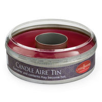Candle Warmers Etc. Aire Spiced Apple Wax Melt Tin, Red