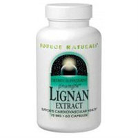 Source Naturals Lignan Extract - 70 mg - 30 Capsules