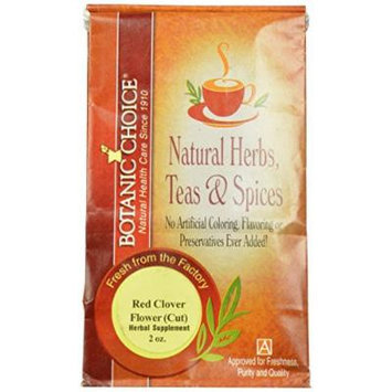 Botanic Choice, Red Clover Flower Cut, Herbal Supplement (Pack of 6)