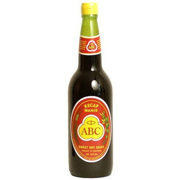 ABC Indonesian Sweet Soy Sauce, 21.1-Ounce Bottle (Pack of 2)