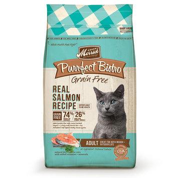 Merrick Purrfect Bistro Real Salmon Recipe Dry Cat Food, 7 lb.