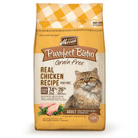Merrick Purrfect Bistro Grain Free Healthy Chicken Adult Cat Food, 7 lbs.