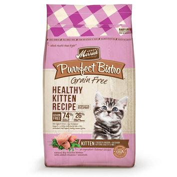 Merrick Purrfect Bistro Grain Free Healthy Kitten Food, 7 lbs.