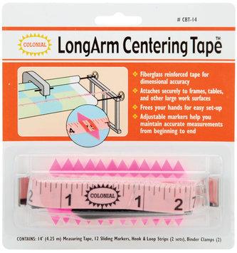 Colonial Needle Tape -Longarm Center Tape