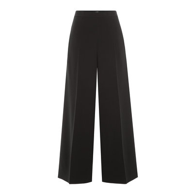 Wide Leg Crepe Pants Gr. 36