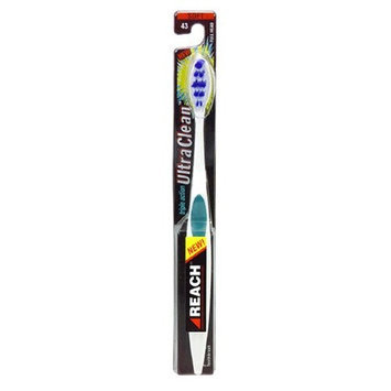 Reach Toothbrush, Full Head, Soft 43, 1 Toothbrush (Color May Vary)