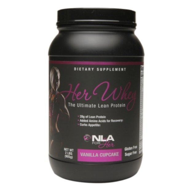NLA for Her Her Whey Protein Vanilla Cupcake