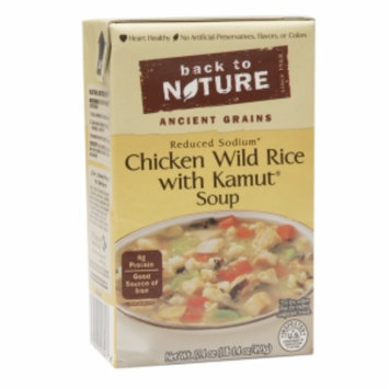 Back To Nature Reduced Sodium Soup Chicken Wild Rice with Kamut 17.4 oz