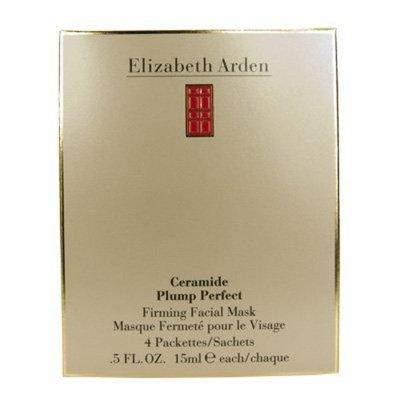 Elizabeth Arden Ceramide Plump Perfect Firming Facial Mask, 4 x 15ml Box