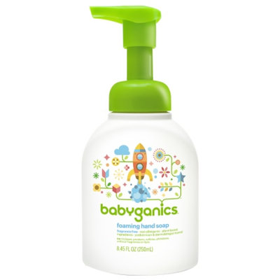 BabyGanics Fine & Handy Foaming Hand Soap