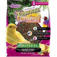 F.m. Brown Pet Tropical Carnival Zoo-Vital Canary & Finch Food