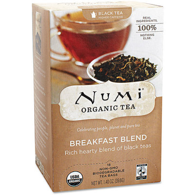 Numi Organic Tea Breakfast Blend Tea