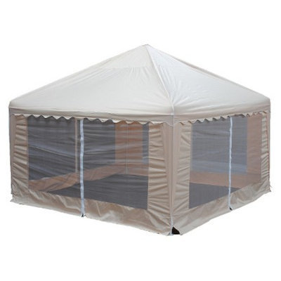 King Canopy Garden Party Replacement Cover - Almond (13')