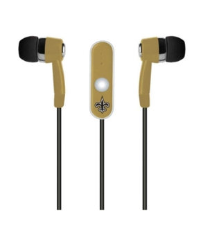New Orleans Saints Earbuds with Microphone