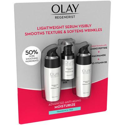 Olay Regenerist Fragrance Free Regenerating Serum Carded Pack