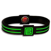 Pure Energy Band - Duo - Black & Lime - 7 in.