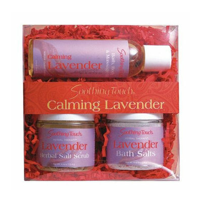 Soothing Touch & Sunshine Spa Soothing Touch Body Care Gift Set Lavender 3 Pieces 4 oz