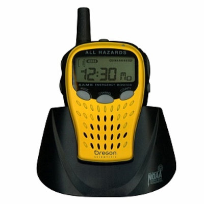 Oregon Scientific WR601N Yellow-Portable Emergency Weather Radio