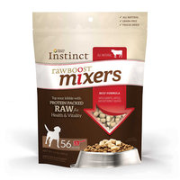 Natures Variety Instinct Raw Boost Mixers Dog Food Enhancer Grain Free, Freeze Dried, Beef