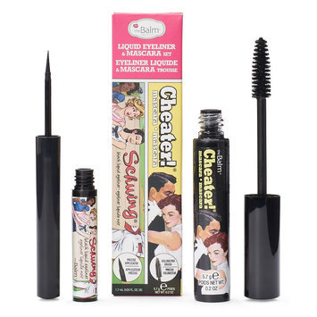 Thebalm the Balm Schwing Liquid Eyeliner & Cheater Mascara Set, Black
