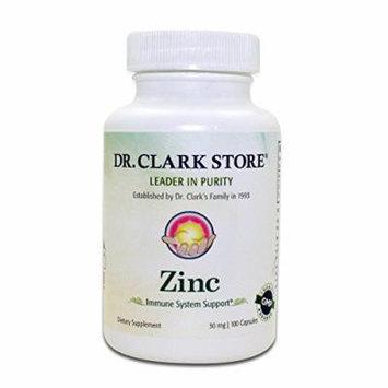 Dr. Clark Zinc Supplement, 30mg, 100 capsules