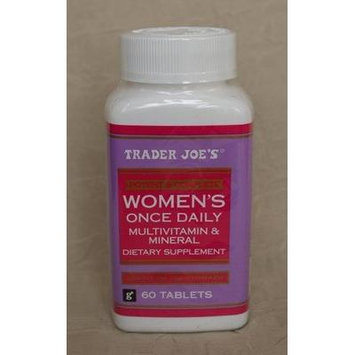 Trader Joe's Women's Once Daily Multivitamin & Mineral, 60tablets