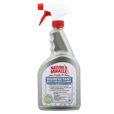NATURES MIRACLE Disinfectant Multi Surface Cleaner Solution