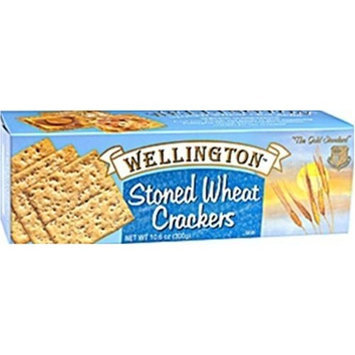 Wellington Stoned Wheat Cracker, 10.6 Ounce Boxes (Pack of 12)