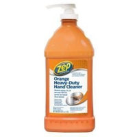 ZEP 48 oz. Heavy Duty Orange Hand Cleaner and Degreaser with Pump [1]