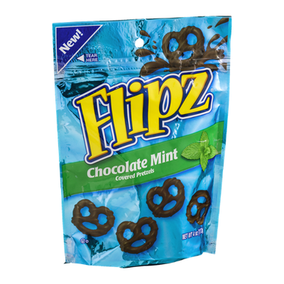 Flipz Chocolate Mint Covered Pretzels