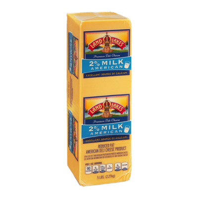 Land O'Lakes Deli Cheese American 2% Milk