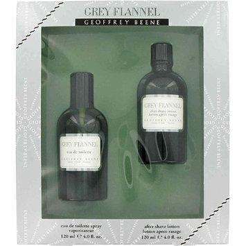 GREY FLANNEL by Geoffrey Beene Gift Set 4 oz Eau De Toilette Spray + 4 oz After