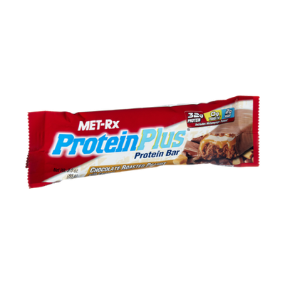 Met-Rx Protein Plus Chocolate Roasted Peanut with Caramel Protein Bar