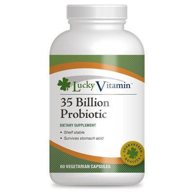 LuckyVitamin - 35 Billion Probiotic Shelf Stable 8 Strains - 60 Vegetarian Capsules