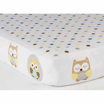 Child of Mine by Carter's Treetop Friends Multi-Print Crib Sheet