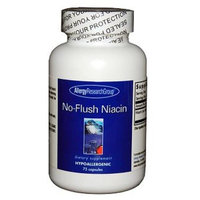 Allergy Research Group, No-Flush Niacin 75 vegetarian capsules