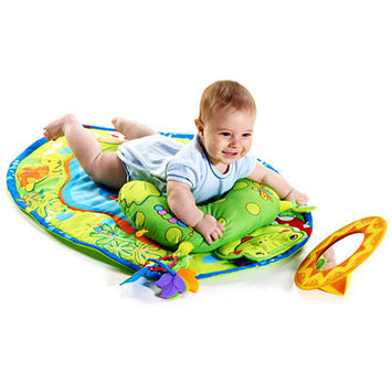 Tiny Love Tummy Time Fun Frog Pillow and Mat