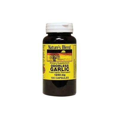 Nature's Blend Odorless Garlic 1,250 mg 100 Caps
