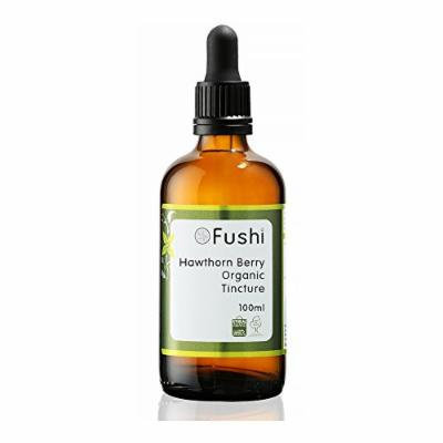 Fushi Hawthorn Berry Organic Tincture 100ml, 1:2@25%, Certified Organic Biodynamic Harvested