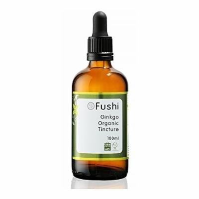 Fushi Ginkgo Organic Tincture 100ml, 1:2@25%, Certified Organic Biodynamic Harvested