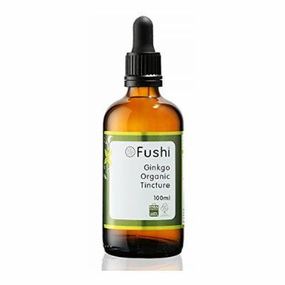 Fushi Ginkgo Organic Tincture 100ml, 1:2@25%, Certified Organic Biodynamic Harvested