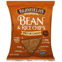 Beanfields Pico de Gallo Bean & Rice Chips, 1.5 oz, (Pack of 24)