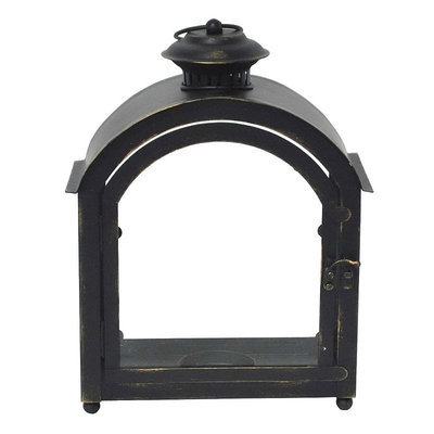 SONOMA Goods for Life™ Small Indoor / Outdoor Vintage Lantern Candle Holder, Black
