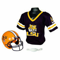 Franklin Sports LSU Helmet/Jersey Set