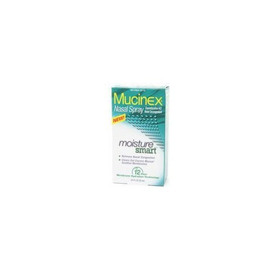 Mucinex Nasal Spray, Moisture Smart - 0.75 Oz