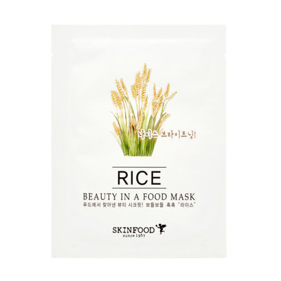 Skinfood Beauty In A Food Mask Sheet Rice