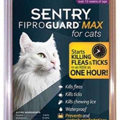 St Jon Labs FiproGuard Maximum 6-Month Cats Over 12 Weeks, Purple