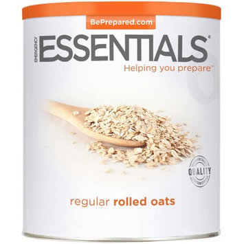 Emergency Essentials Food Regular Rolled Oats Large Can 42 oz
