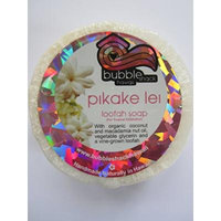 Hawaiian Bubble Shack Loofah Glycerin Soap Pikake Lei 4 Bars