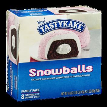 Tastykake Snowballs - 8 CT